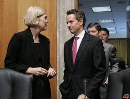 Warren and Geithner
