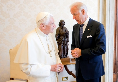Joe Biden S Secret Meeting With The Pope Time Com