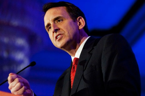 Republican presidential candidate Tim Pawlenty speaks at the Faith and Freedom Coalition in Washington
