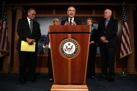 Congress Remains In Session In Attempt At Avert Government Shutdown