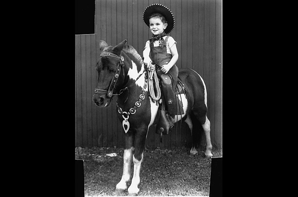 Eight-year-old Newt Gingrich