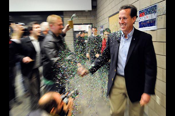 Santorum in Minnesota