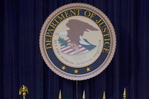 US Attorney General Eric Holder  deliver