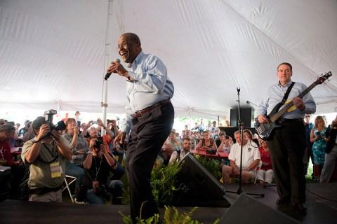 Herman Cain Singing
