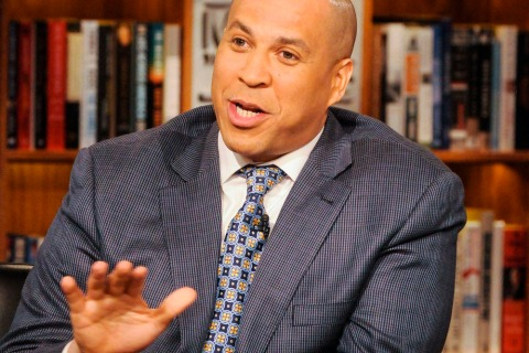 Cory Booker apperas on NBC's Meet the Press