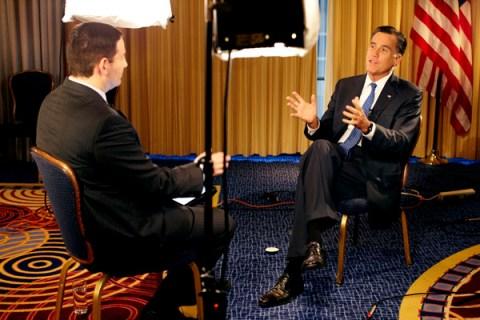 Mark Halperin interviews Mitt Romney