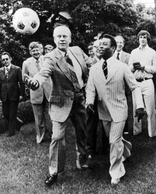 Gerald Ford and Pele