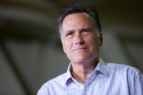 Republican Presidential candidate Mitt Romney  campaigns in Pennsylvania.