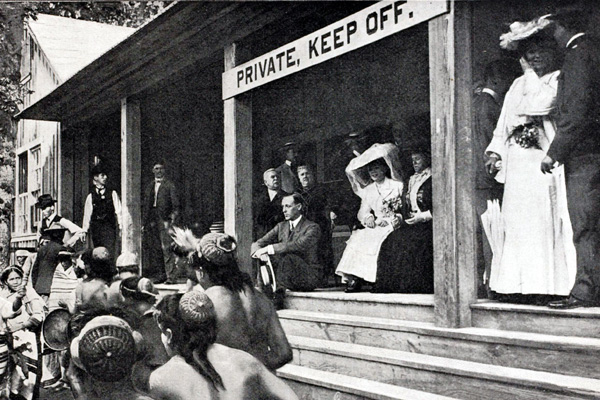 Alice Roosevelt at the 1904 Olympics in St. Louis