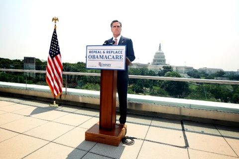 Mitt Romney Speaks On Supreme Court Decision On Affordable Care Act