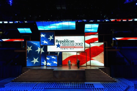 GOP Previews Site Of Republican National Convention