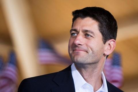Vice presidential running mate Rep. Paul Ryan