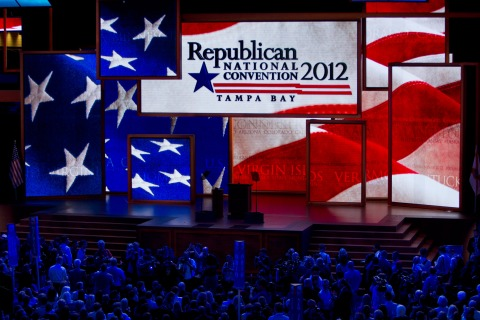 First Day Opening Session RNC convention in Tampa, Florida.