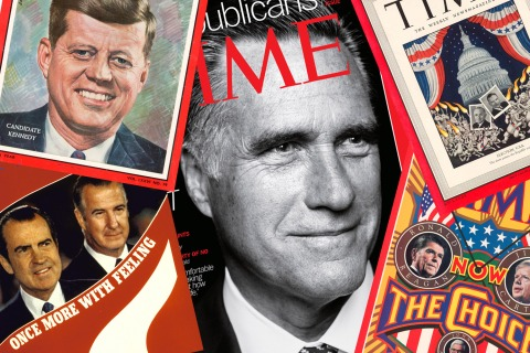 TIME Election Covers