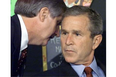 Bush on September 11, 2001