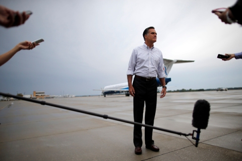 Mitt Romney's Gamble