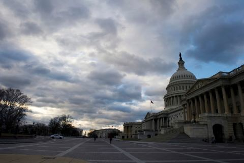 image: The U.S. Capitol building is pictured as lawmakers return from the Christmas recess in Washington Dec. 27, 2012.