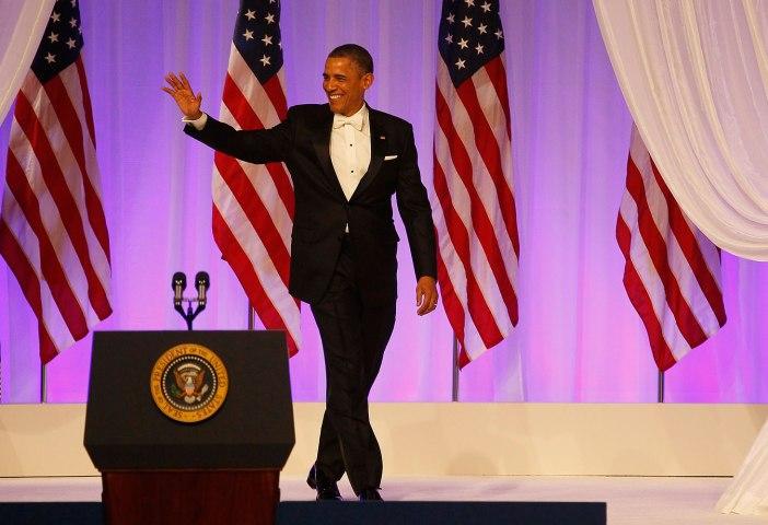 President Obama in Inaugural Ball