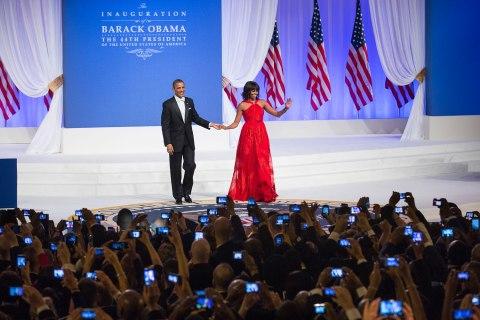 President Obama's inaugural ball