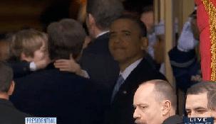 Obama's Inauguration Exit