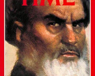Ayatollah Khomeini Man of the Year in January 1980.