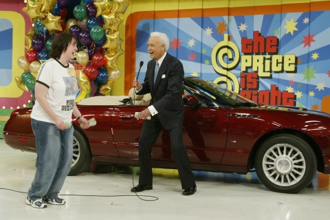 BOB BARKER TAPES 6000TH SHOW OF THE PRICE IS RIGHT.