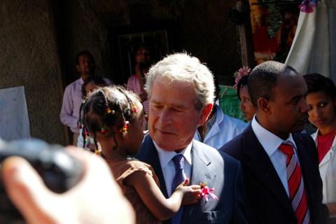 U.S. President Bush PEPFAR