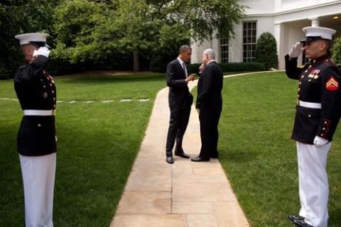 Barack Obama and Bibi