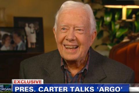 Former President Jimmy Carter on Piers Morgan