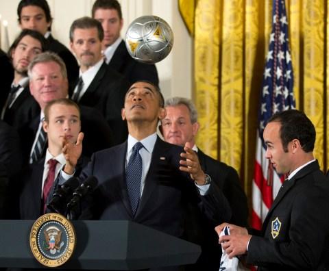 Barack Obama, Landon Donovan