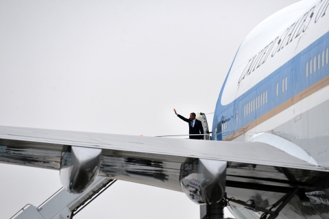 President Obama Air Force One