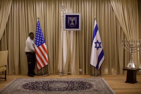 Israel Prepares For President Obama's Visit