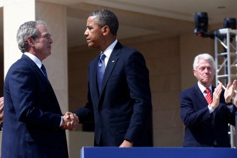 Barack Obama, George W. Bush, Bill Clinton