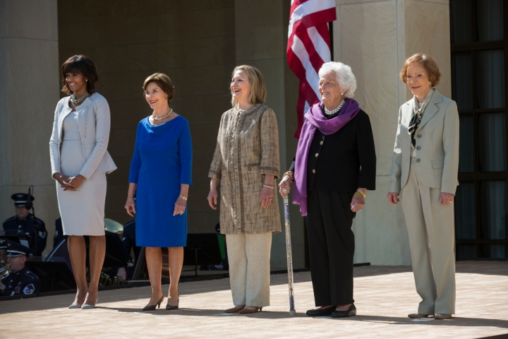 Presidential Reunion: Scenes from the Opening of the Bush Library