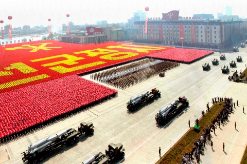 Kim il-sung birthday north korea