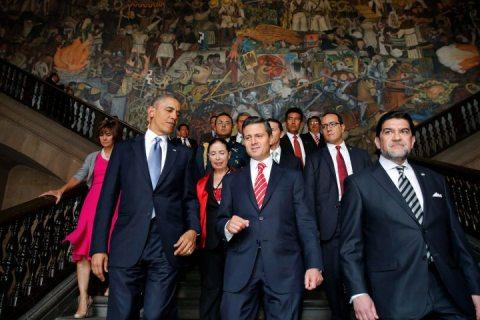 Barack Obama/ Enrique Pena Nieto Mexico
