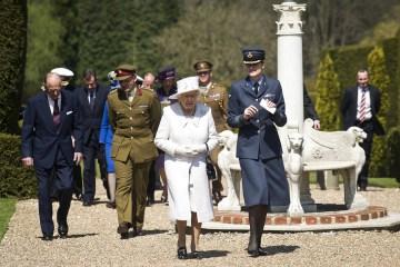 Queen Elizabeth II and Prince Phillip, Duke of Edinburgh Visit Headley Court