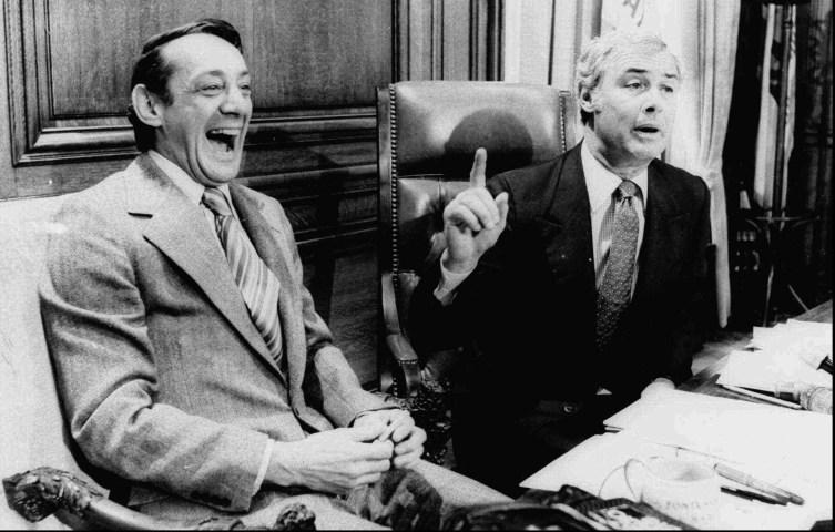 Harvey Milk, George Moscone
