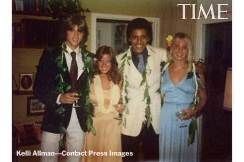 Barack Obama in an exclusive prom photo.