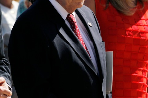 Former U.S. Vice President Cheney attends dedication ceremony for George W. Bush Presidential Center in Dallas
