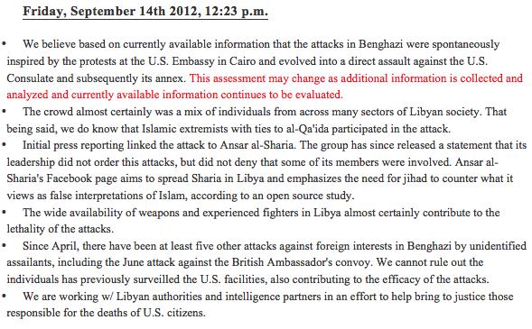 Benghazi TP 2