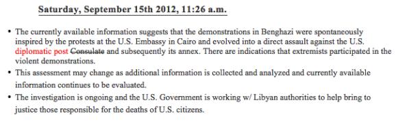 Benghazi TP 10