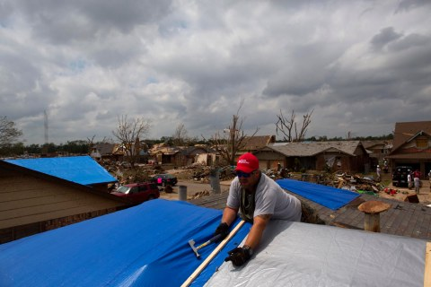 Recovery from the tornado in Moore, Okla.