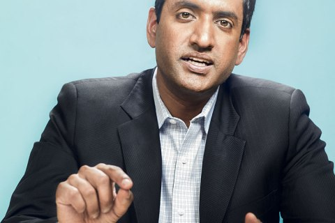 Ro Khanna, democratic candidate for Congress, photographed in his campaign headquarters in Silicon Valley on June 3, 2013.