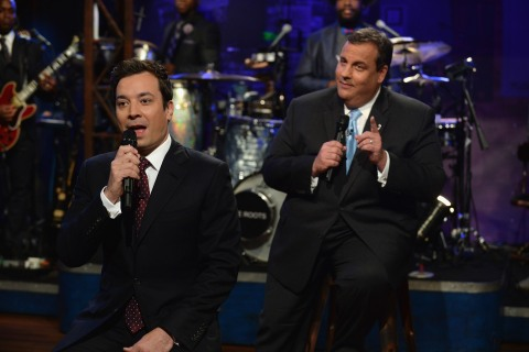 "Chris Christie Visits ""Late Night With Jimmy Fallon"""