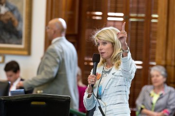 Texas Sen. Wendy Davis filibuster of abortion bills