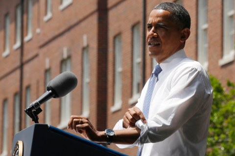 U.S. President Barack Obama speaks about his vision to reduce carbon pollution in Washington
