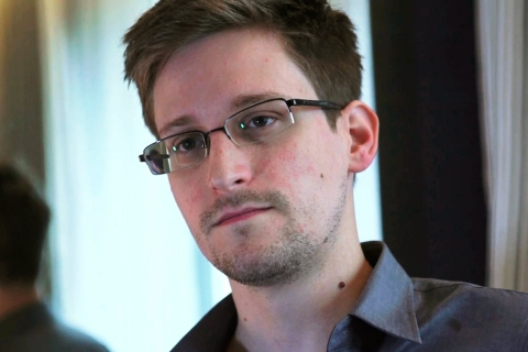 NSA whistleblower Edward Snowden is seen in this still image taken from video during an interview by The Guardian in his hotel room in Hong Kong, on June 6, 2013.
