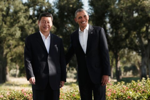 U.S. President Obama meets Chinese President Xi in Rancho Mirage