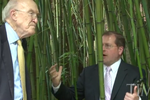 Norquist and Simpson at the zoo